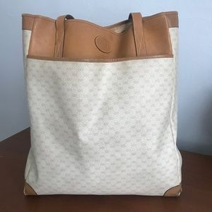 Authentic Vintage Gucci GG Tote Bag